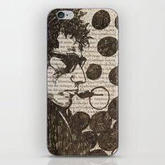 Bob Dylan Smoking the Blues iPhone & iPod Skin