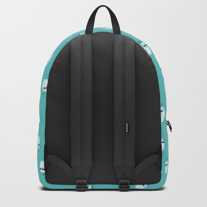 Got mustache? Backpack