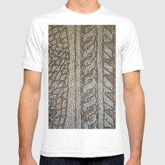 Ravenna Tiles Mens Fitted Tee White MEDIUM