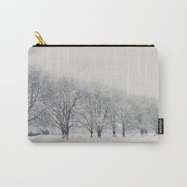 a snow day in Cambridge Carry-All Pouch