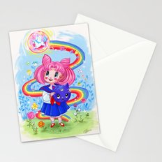 Retro Chibimoon Children's Book Style Stationery Cards