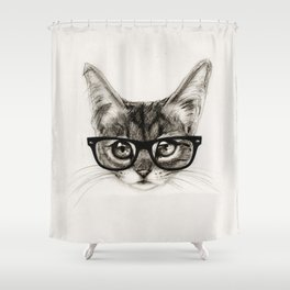 Mr. Piddleworth Shower Curtain