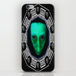 Planet Of Horror Pattern iPhone Skin