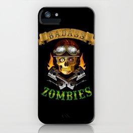 Badass Zombies iPhone Case