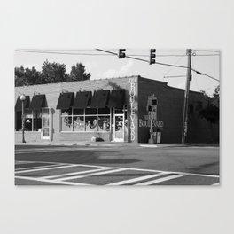 The Boulevard B&W Canvas Print