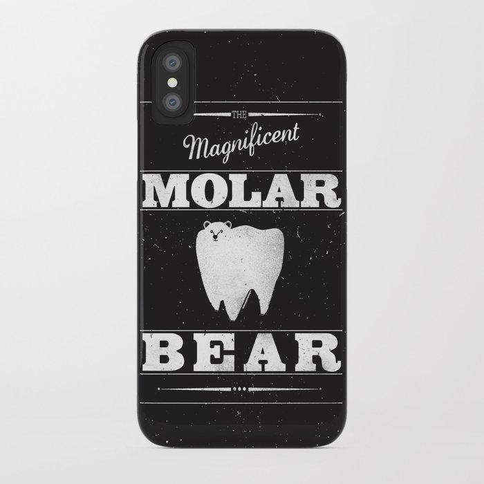 Molar Bear (Gentlemen's Edition) iPhone Case