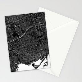 Toronto - Minimalist City Map Stationery Cards