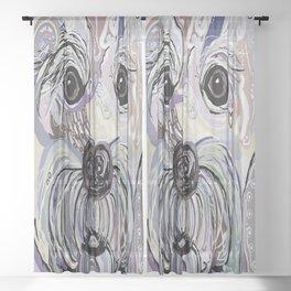 MALTESE Denim Colors Sheer Curtain