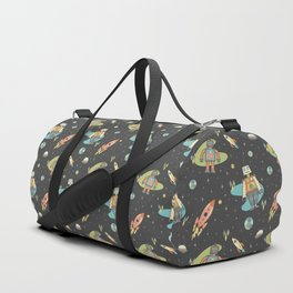 Robots in Space Duffle Bag