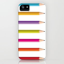 Pencils iPhone Case