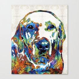 Labrador Retriever Art - Play With Me - By Sharon Cummings Canvas Print