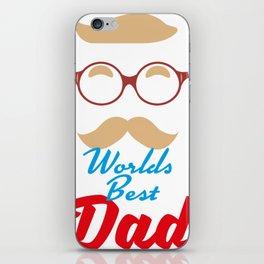 Worlds Best Dad iPhone Skin