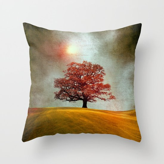 Energy & love (colour option) Throw Pillow