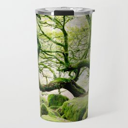 The ancient forest of Wistman's Wood on Dartmoor Travel Mug