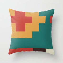 UFOlk 2 Throw Pillow