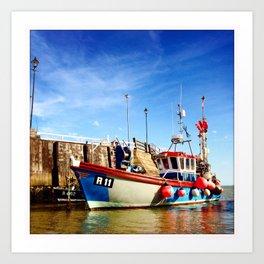 Broadstairs Harbour Art Print