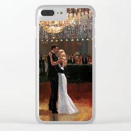 Kim & Billy Wedding: Atlanta Athletic Club Clear iPhone Case
