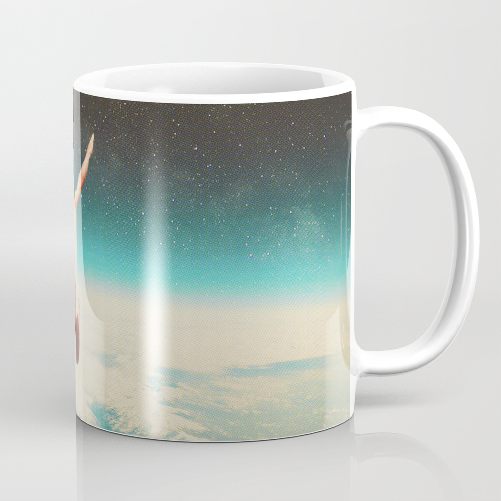 Falling With A Hidden Smile Coffee Cup by Frankmoth MUG3826096