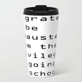 school Travel Mug