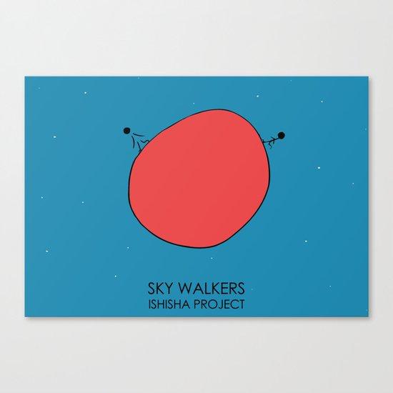 SKY WALKERS by ISHISHA PROJECT Canvas Print