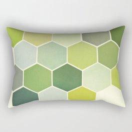 Shades of Green Rectangular Pillow
