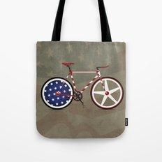 Bike America Tote Bag