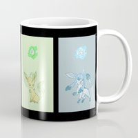 sylveon Mugs featuring Evolutions, Part II by David Flamm
