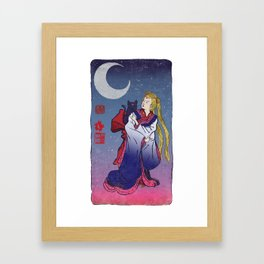 Sailormoon Framed Art Print