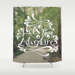 Adventure Shower Curtain