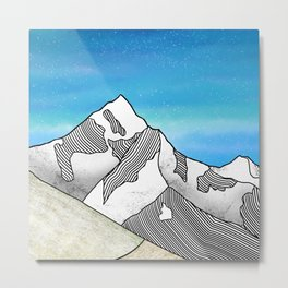 Mt Everest Metal Print