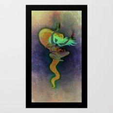 Uræus (v2) Art Print