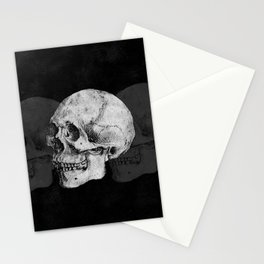 We Left As Skeletons  Stationery Cards