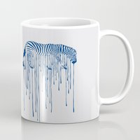 rain Mugs featuring RAIN by Aneesh vini