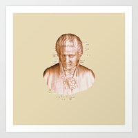 mozart Art Prints featuring Mozart by Arts and Herbs