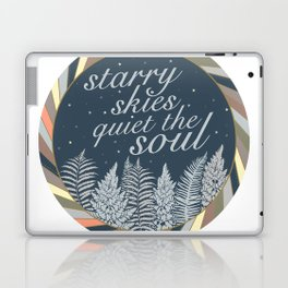 Starry Skies Quiet The Soul Laptop & iPad Skin