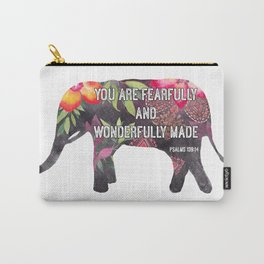 You Are Fearfully Made Carry-All Pouch