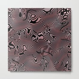 Ramecam Pink #5 Metal Print
