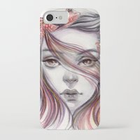 fight iPhone & iPod Cases featuring Fight by Koanne Ko
