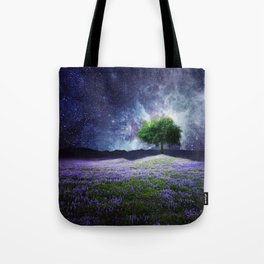 """Soul Tear"" - Nature Meets Space Tote Bag"