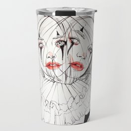 Carnival Clowns Travel Mug