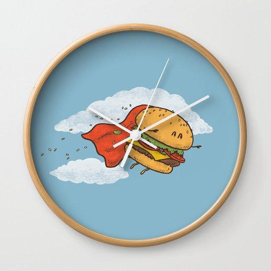 Superburger! Wall Clock