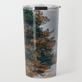 In the middle of a vast field Travel Mug