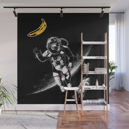 Space Monkey (nd a place to be) Wall Mural