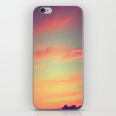 When Rainbows Go To Bed iPhone & iPod Skin