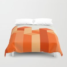 Geometric City Duvet Cover