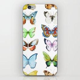Butterfly Pattern 05 iPhone Skin