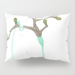 Listening to winter Pillow Sham