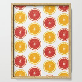 Citrus Fruit Serving Tray
