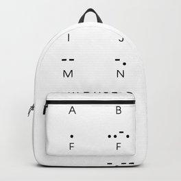 Morse Me Backpack