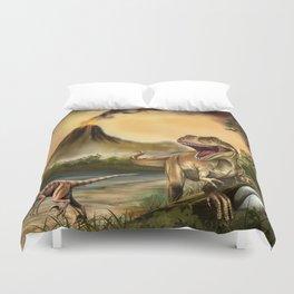 Predator Dinosaurs Duvet Cover